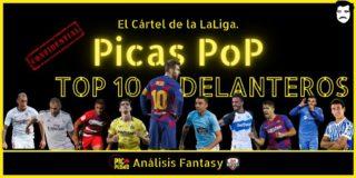 PICAS POP. Ranking. Top 10 Delanteros.